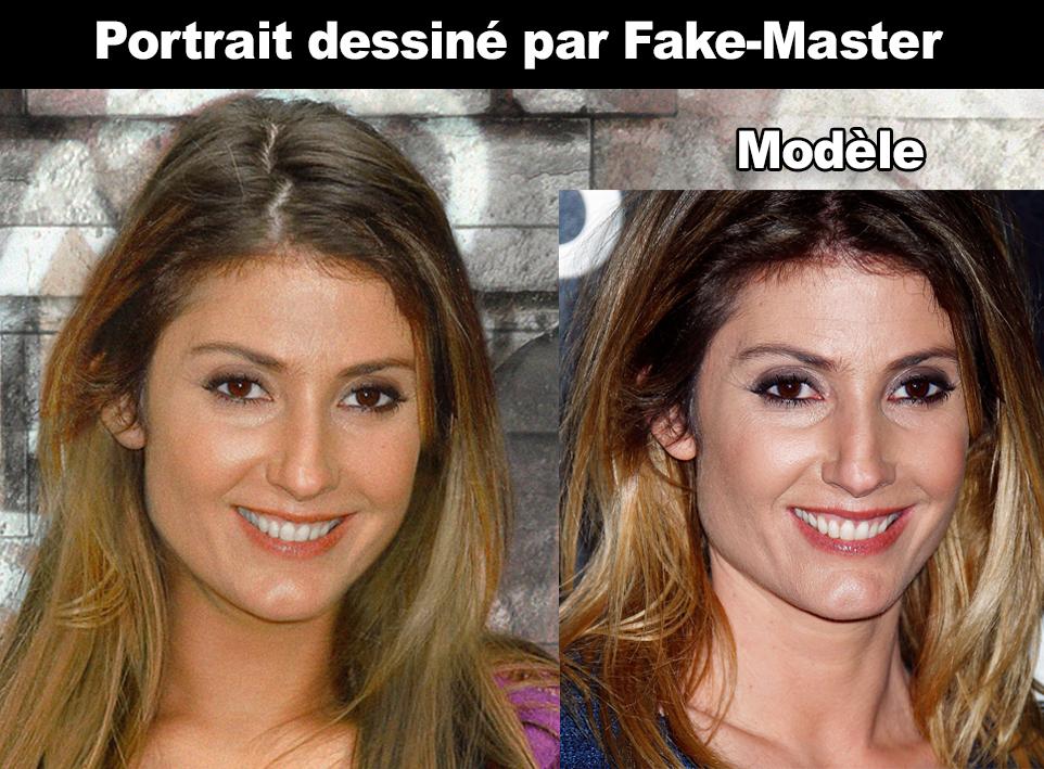 Portrait de Caroline Ithurbide créé par Fake-Master