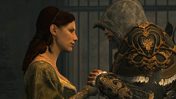 Sofia & Ezio - Assassin's Creed Revelations