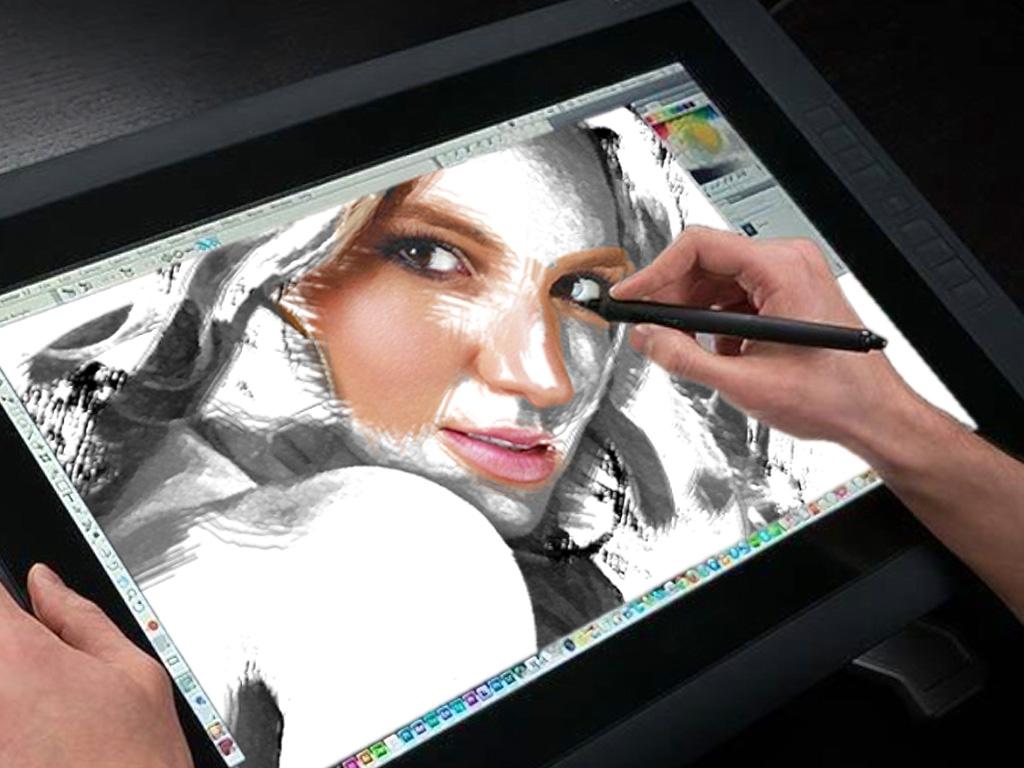 Fake-Master en train de dessiner
